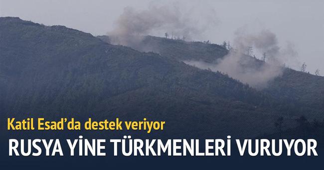 Esad ve Rus güçlerinin Türkmenlere saldırıları