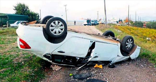Cenaze dönüşü kaza