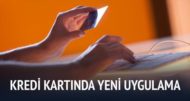 Kredi kartında taksit sayısı 12'ye çıkarıldı