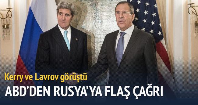 ABD'den Rusya'ya flaş çağrı!