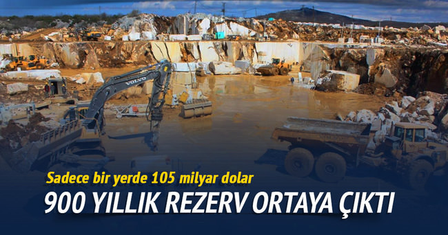 Bursa'da 900 yıllık mermer rezervi ortaya çıktı