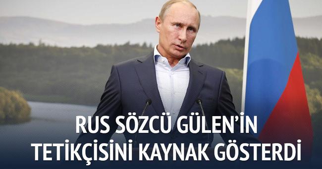 Rus sözcü Fuat Avni'nin iddiasına inandı