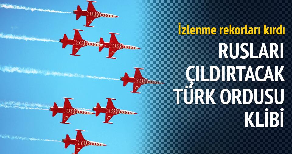 Ukrayna'dan Türk Ordusu klibi