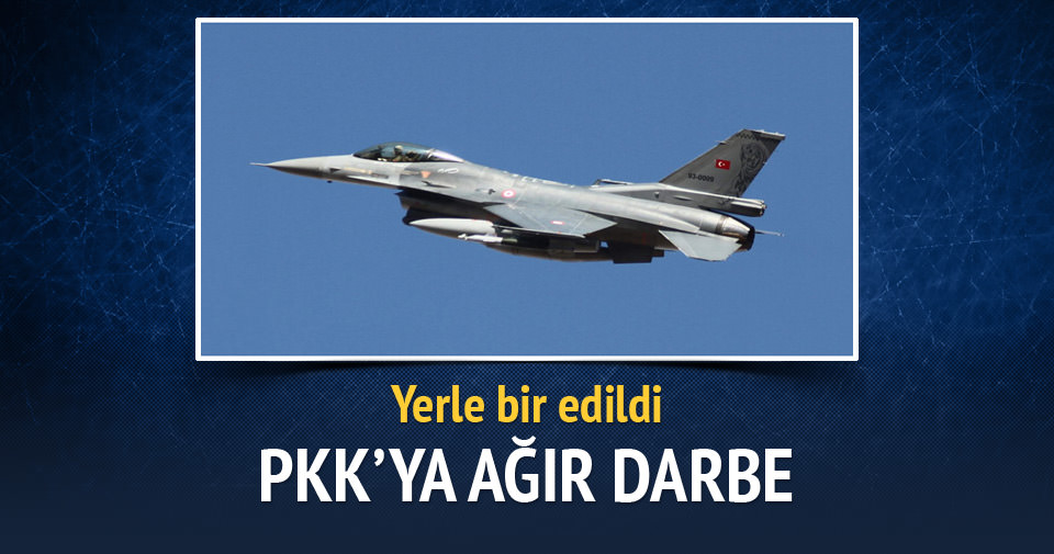 Çukurca'da PKK barınaklar yerle bir edildi