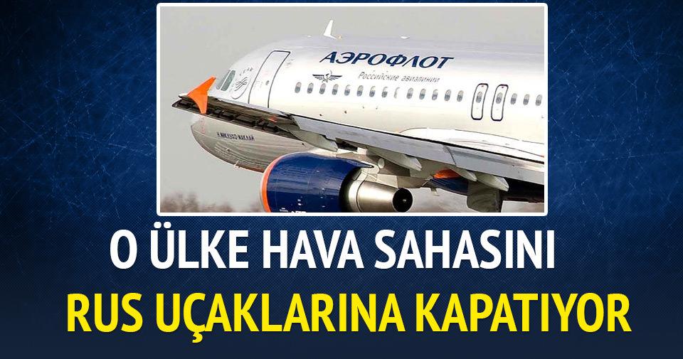 Ukrayna hava sahasını Rus uçaklarına kapatıyor
