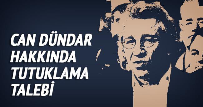 Can Dündar'a MİT Tırları soruşturmasından tutuklama talebi