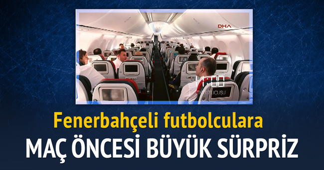 THY'den Fenerbahçeli futbolculara Molde maçı öncesi sürpriz
