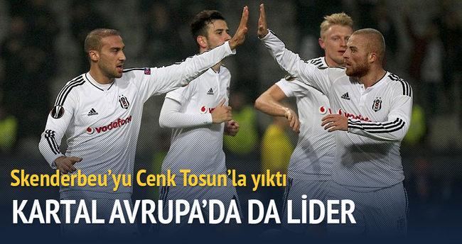 Beşiktaş Avrupa'da da lider