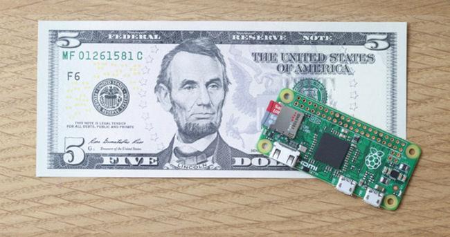5 dolarlık bilgisayar tanıtıldı