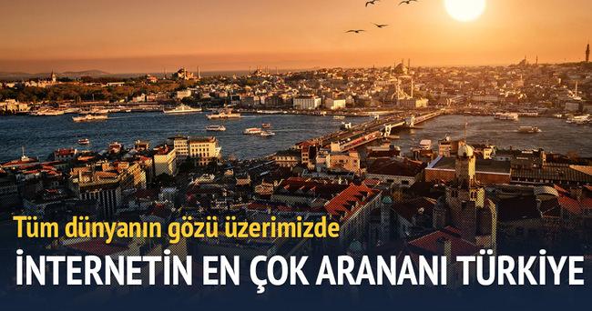 Türkiye, internette en çok arananı oldu