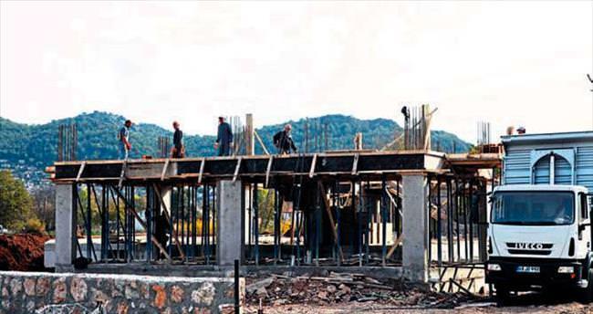 Kayaköy'de kaçak inşaata savaş açıldı