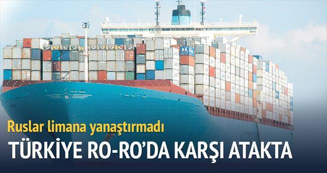 Türkiye Ro-Ro'da karşı atakta