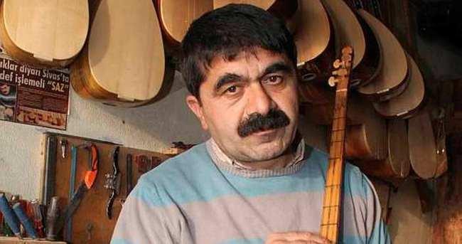 Aşık Veysel'in 103 yıllık sazı İstanbul'da