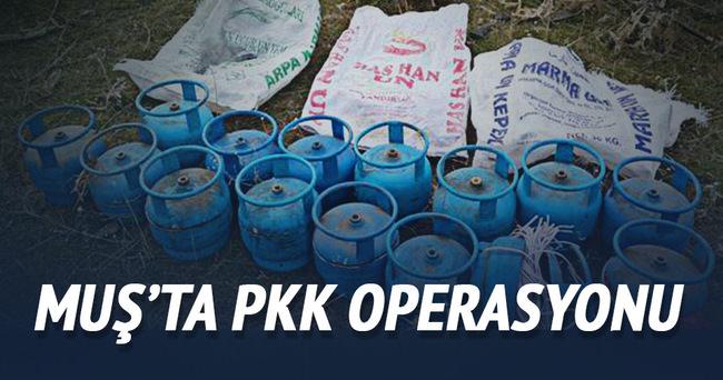 Muş'ta PKK operasyonu