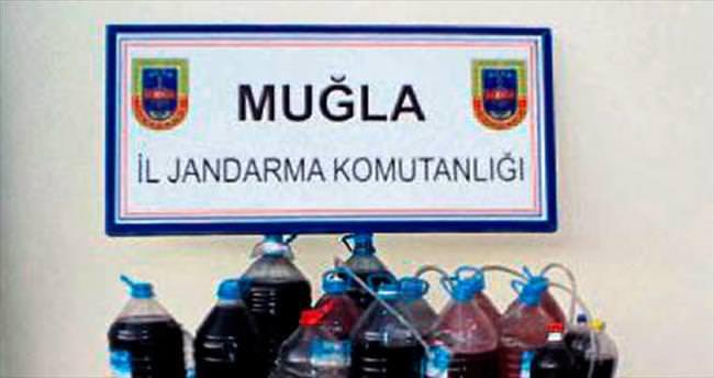Fethiye'de kaçak içki operasyonu