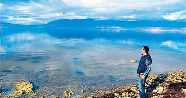 Burdur Gölü'nde tuzluluk alarmı