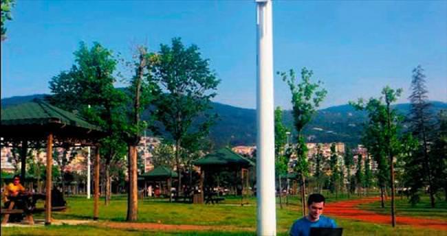 Büyükşehir tüm kenti wi-fi ile donatıyor