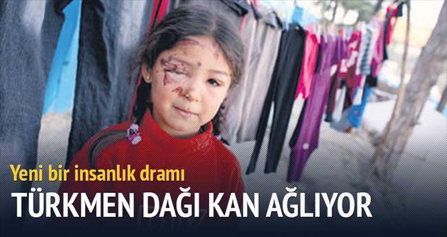 Türkmen Dağı kan ağlıyor