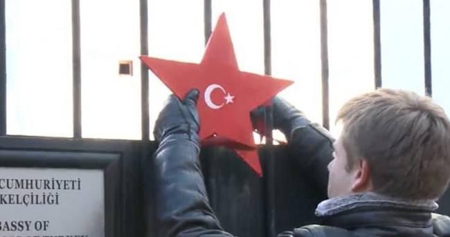 Ukrayna'da Türkiye'ye teşekkür yıldızı