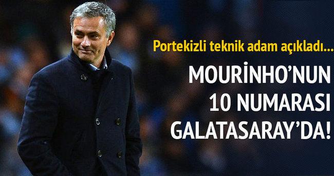 Jose Mourinho'nun 10 numarası Galatasaray'da