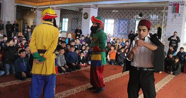Çocuklara cami sevgisi tiyatroyla kazandırılacak