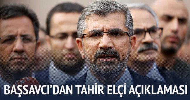 Diyarbakır Cumhuriyet Başsavcısı'ndan Tahir Elçi açıklaması