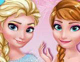 Frozen Kardeşler Özel Makyaj