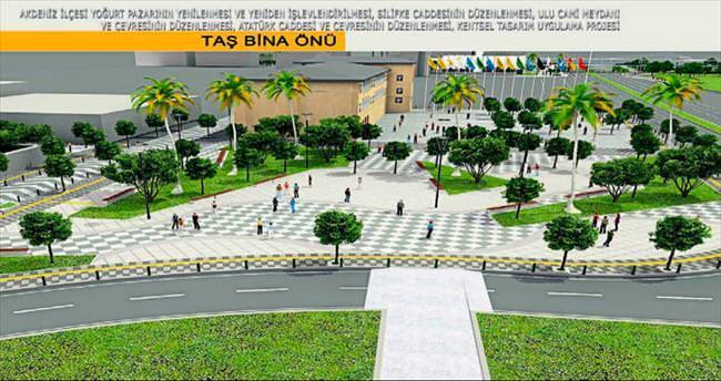 Kentsel Tasarım Projesi Mersin'e hayat verecek