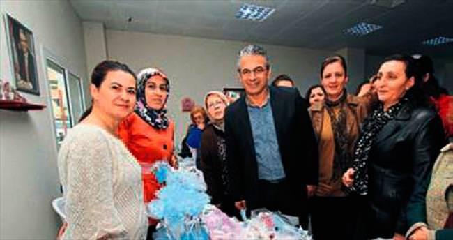 Karşıyakalı kadınlar üretiyor ve satıyor