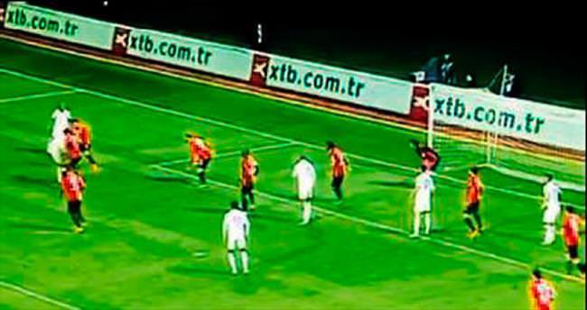 10 kişi golü izlediler!