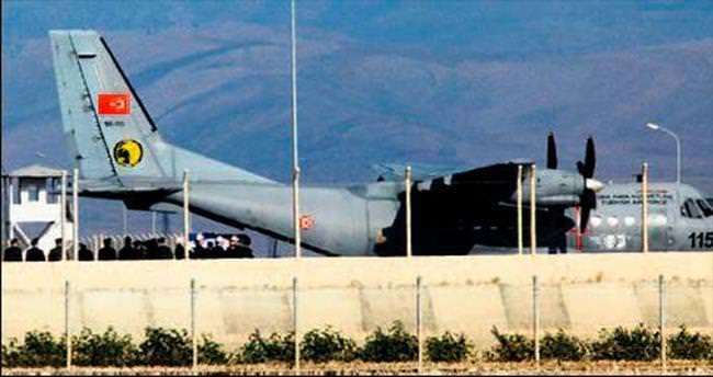 Pilotun cenazesi Rusya'ya uğurlanıyor