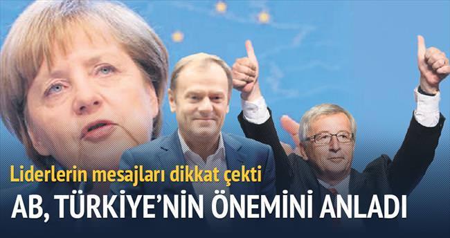 AB, Türkiye'nin önemini anladı