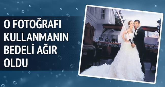 İzinsiz kullanılan düğün fotoğrafına 70 bin lira