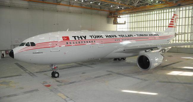 THY'nin Kushimoto uçağı Tokyo'da!