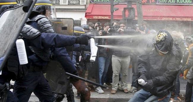 Paris'te İklim Zirvesi öncesi çatışma
