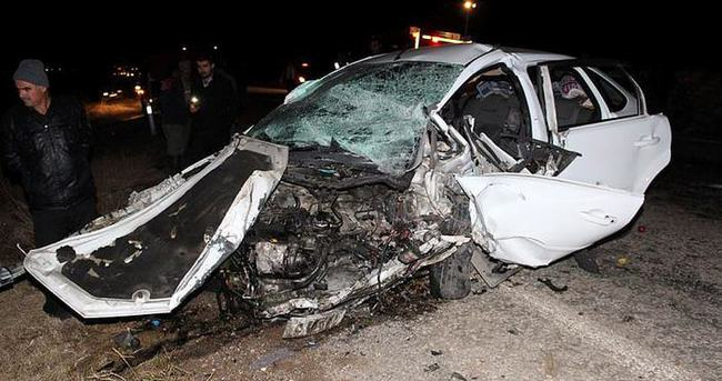 Konya'da trafik kazası: Ölü ve yaralılar var!