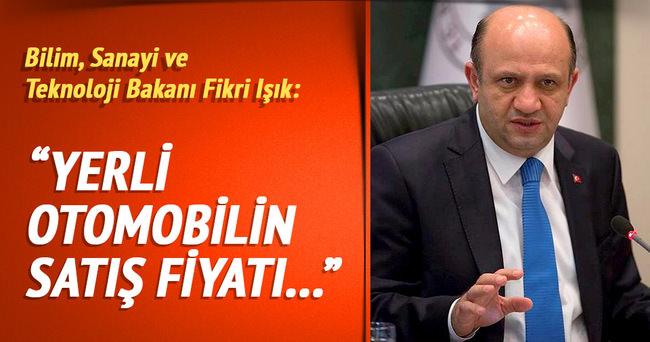 Bakanı Işık: 'batarya maliyetimiz azaldığı zaman fiyatı çok daha düşecek'