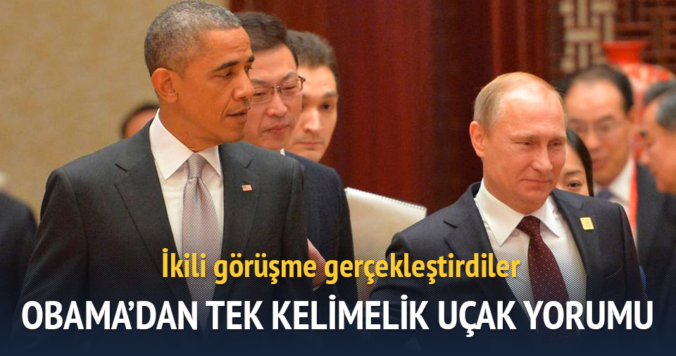 Obama Putin'le Türkiye'yi konuştu