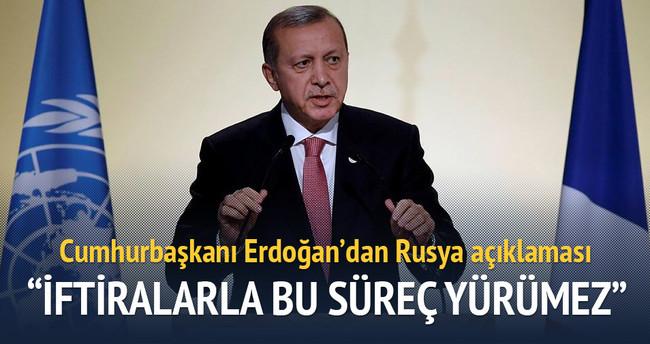 Cumhurbaşkanı Erdoğan'dan Rusya yorumu
