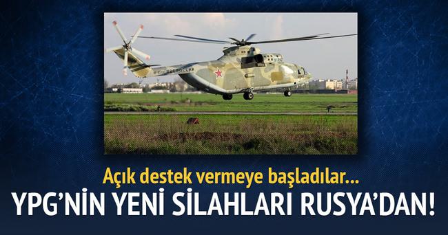 Rusya YPG'ye silah indirdi