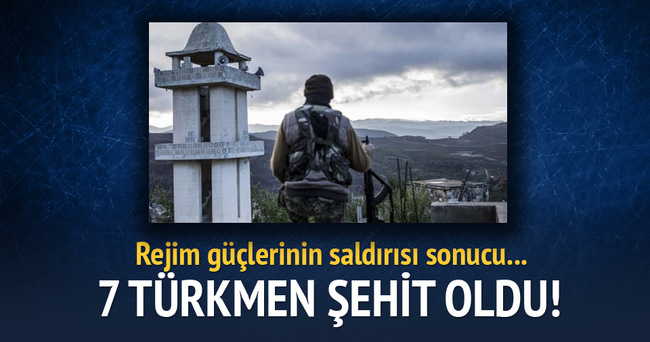7 Türkmen şehit