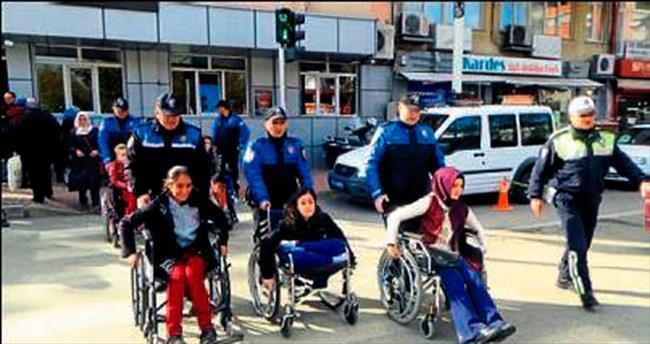 Engelli bireylerin ilk trafik deneyimi