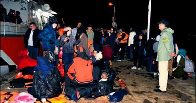 Bin 970 mülteci yakalandı