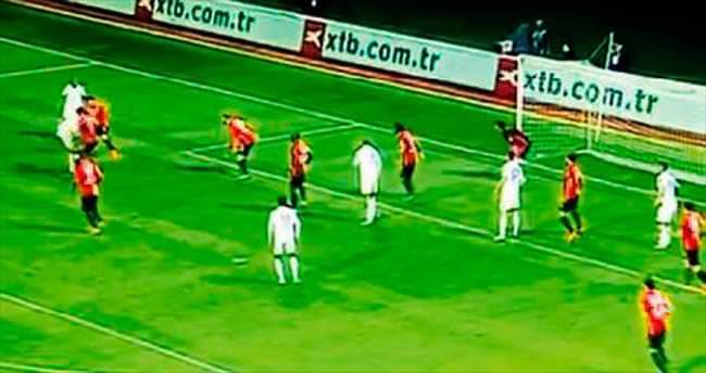 Galatasaray böyle gol yemez!
