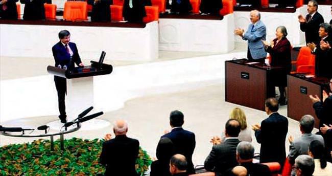 64. Hükümet Meclis'ten güvenoyu aldı