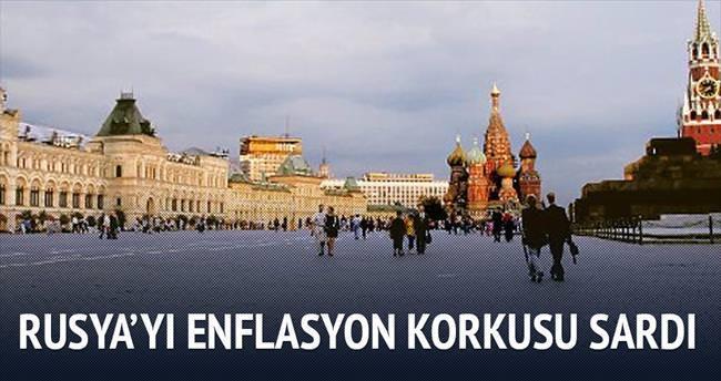Rusya'yı enflasyon korkusu sardı
