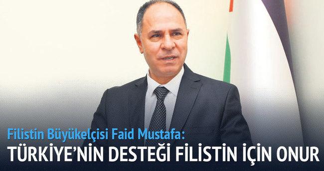 Türkiye'nin desteği Filistin'in onuru