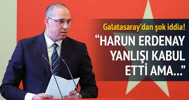 Galatasaray'dan şok iddia