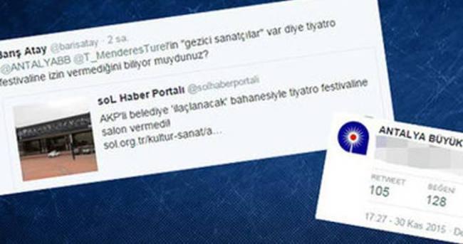 Belediyeden Gezi provokatörüne tokat gibi cevap