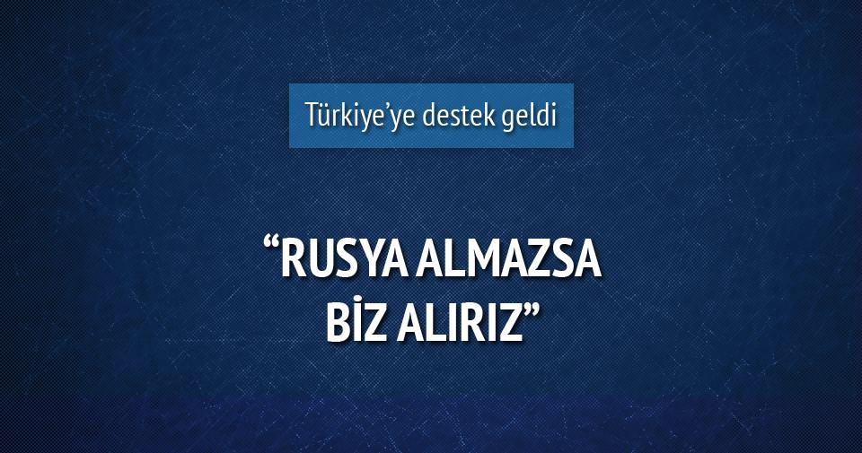 Ukrayna'dan Türkiye'ye destek